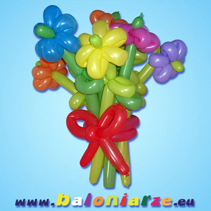 bukiet_baloniarze_modelowanie_balonów