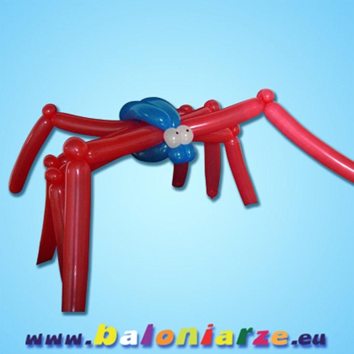 pająk_baloniarze_modelowanie_balonów