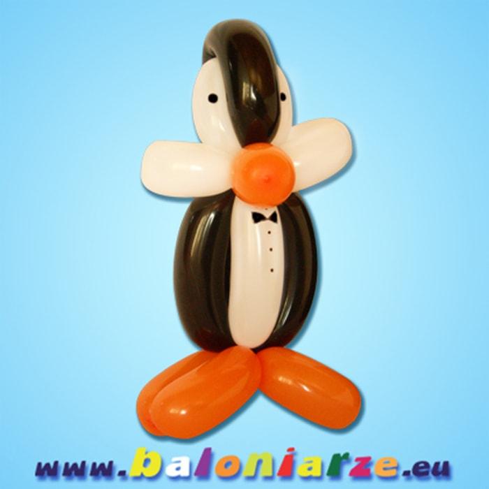 pingwin_baloniarze_modelowanie_balonów