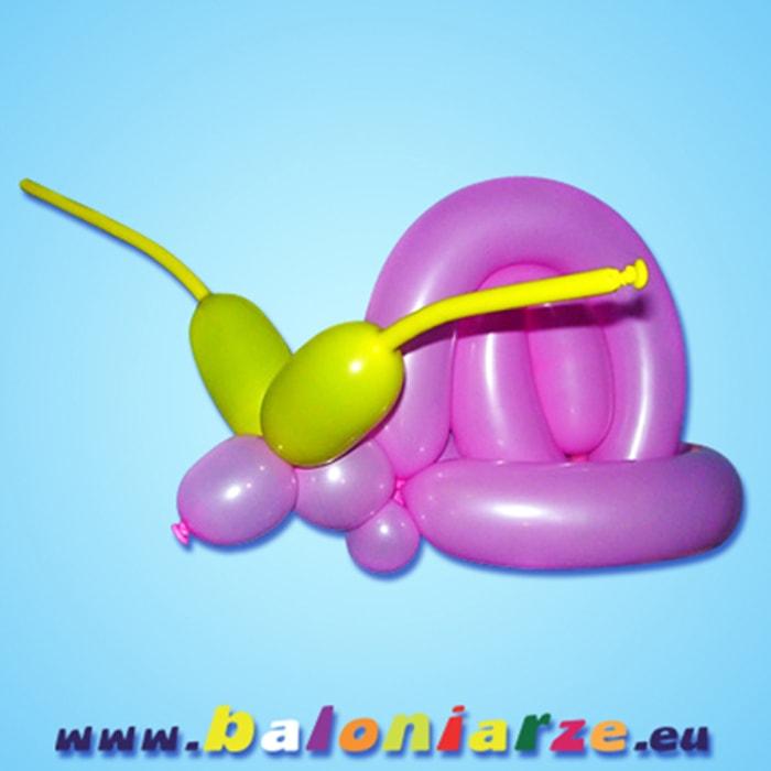 ślimak_baloniarze_modelowanie_balonów
